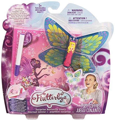 Flutterbye–Fee Flügel Schmetterling öffnet das Buch und Fliegen (verschiedene Modelle) (Fliegt Fee)