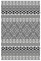 Green Decore Lightweight Outdoor Reversible Plastic Relic Rug from Green Decore