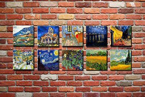 Time4Art Vincent Van Gogh Print Canvas 10immagine