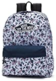 Vans Realm Backpack Zaino Casual, 42 Cm, 22 Liters, Multicolore (White Ditsy Blooms)
