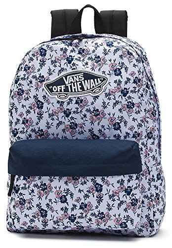 Imagen de vans realm backpack  tipo casual, 42 cm, 22 liters, varios colores white ditsy blooms