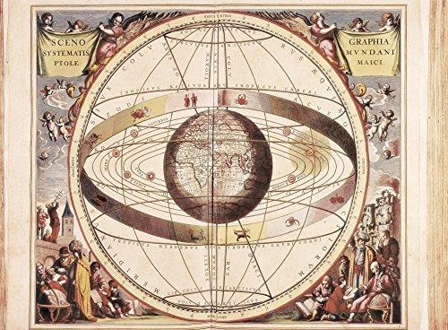 Atlas Coelestis Seu Harmonia Macrocosmica (1661) by Andreas Cellarius Poster Drucken (91,44 x 60,96 cm)