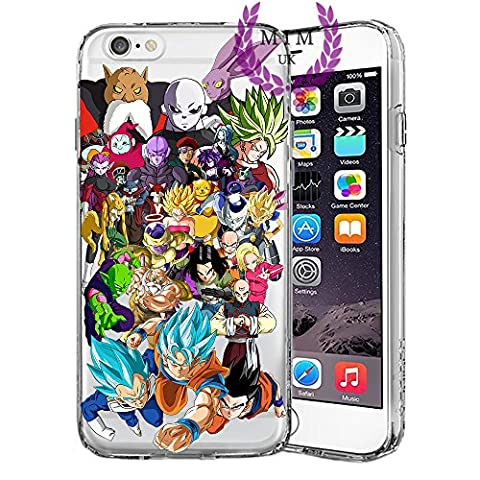 Étuis Coque iPhone Dragon Ball Z Super GT Case Cover - Dernières conceptions uniques - Derniers modèles - Tous les modèles iPhone - Neuf - La plus haute qualité - Tournament Of Power - Goku Black Rose - Goku Blue - Gohan - Jiren - Vegeta Blue - DBS - DBZ - DBGT - Beaucoup De Designs - MIM UK (iPhone 5/5s/SE, Survival Arc)