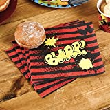 Neviti 672991 Beano Dennis The Menace Napkins, Red