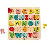 Hape HAP-E1551 Chunky Alphabet Puzzle - Multicolor