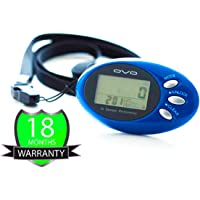 OVO Walk Fit Tri-axis 3D Intelligent Pedometer with Strap 7 Days Memory, Accurate Step, Walking Distance Miles/Km, Calorie Counter, Target Monitor, Exercise Time
