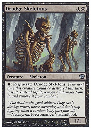 Drudge Skeletons (Magic: the Gathering - Drudge Skeletons - Ninth Edition by Wizards of the Coast)