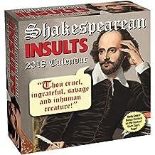 2018 Shakespearean Insults D2D Calendar