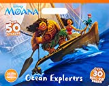 Disney Moana Ocean Explorers Coloring Floor Pad: Over 30 Pull-Out Pages