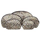 Blue Banana 5-teiliges Leopard Print Makeup Taschen Set