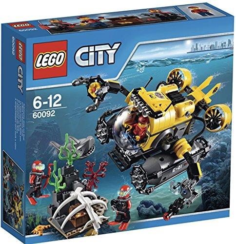 Preisvergleich Produktbild LEGO City 60092 - Tiefsee-U-Boot