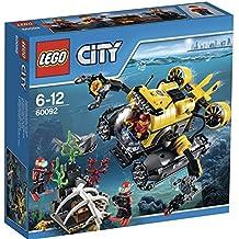 LEGO City 60092 - Sottomarino, 3 Minifigure