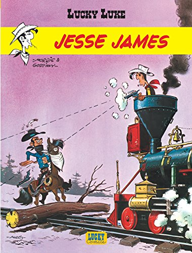 Lucky Luke n° 4 Jesse James
