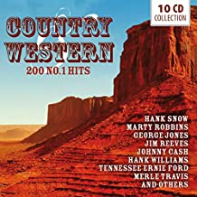 Country & Western 200 Nº 1 Hits   Pack 10cd