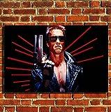Box Prints Terminator Film Leinwand Wand Kunstdruck Bild groß Klein