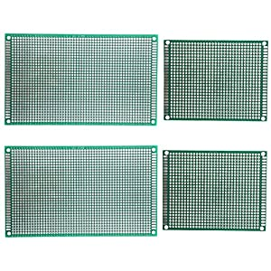 umsole 7x 9cm 9x 15cm de lado doble universal PCB placa de circuito