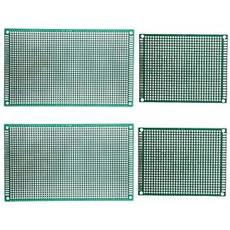 umsole 7x 9cm 9x 15cm de lado doble universal PCB placa de circuito impreso Prototipo KIT soldadura para experimento electrónico y diseño