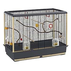 ferplast piano 6 cage pour oiseaux animalerie. Black Bedroom Furniture Sets. Home Design Ideas