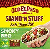 Old El Paso Smoky BBQ Stand 'N' Stuff Soft Taco Kit, 350g