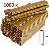 1000 AGRAFES 6 MM X 15 MM POUR AGRAFEUSE ÉLECTRIQUE PARKSIDE FAITES EN ALLEMAGNE