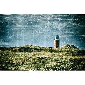 Foto Grußkarte Leuchtturm - Klappkarte mit Umschlag - Format C6
