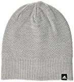 adidas Damen Classic Beanie Reversible Mütze, Medium Grey Heather/Black/White, OSFW