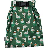 Hisprout Grab and Go Waterproof Washable Reusable Diaper Wet Bag (Duckling)