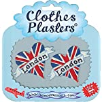 clothes Plasters London Love Hearts