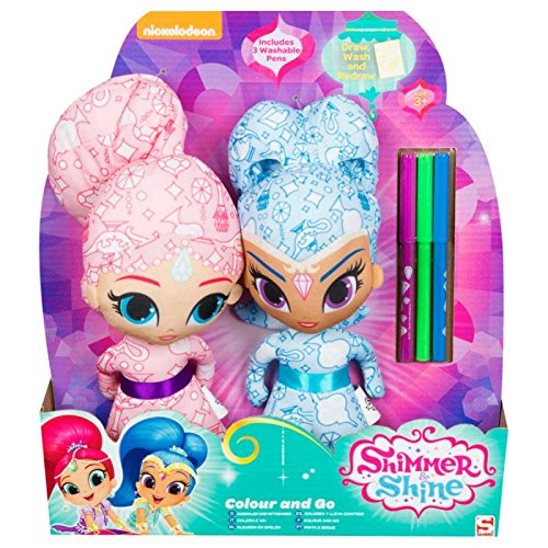 Shimmer & shine colour me friends