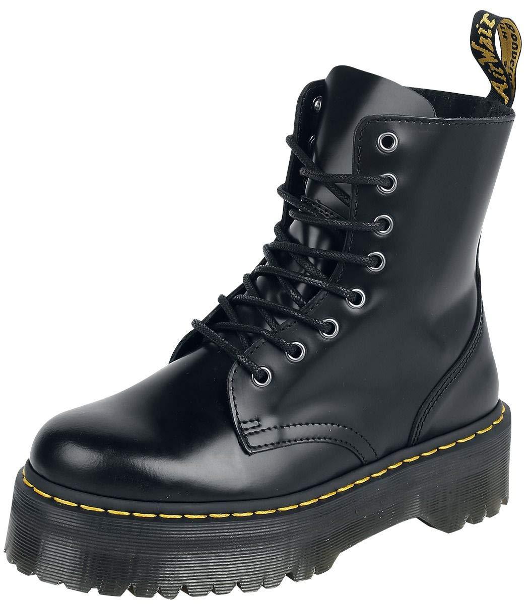 Dr. martens 15265001 jadon polished smooth, scarpe stringate basse brogue uomo R22563600000030