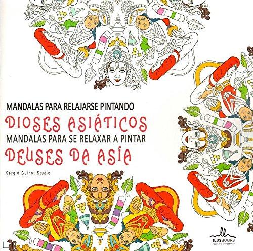 Mandalas de dioses asiáticos por Sergio Guinot