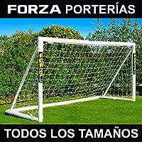 Net World Sports Forza Portería de Fútbol PVC. Amplia Gama de Tamaños (1,8m x 1,2m)