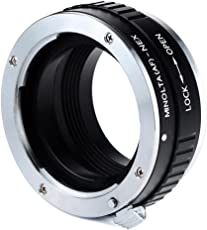 Adapter to Convert Sony Alpha A-Mount Lens to E-Mount for Alpha a7, a7S, a7IIK, a7II, a7R II, a6500, a6300, a6000, a5000, a5100, a3000 Mirrorless Digital Camera