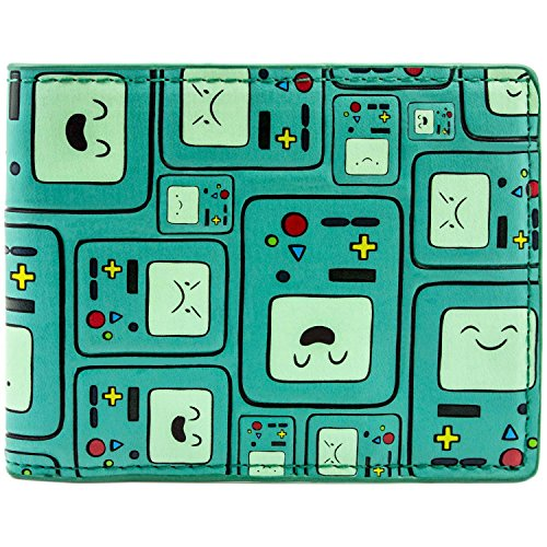 Cartoon Network Adventure Time BMO Patterned Grün Portemonnaie (Kinder Für Kostüm Bmo)
