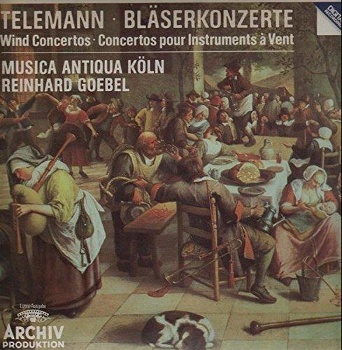 Telemann: Bläserkonzerte - Wind Concertos - Concertos pour Instruments a Vent [Vinyl LP record] [Schallplatte] -
