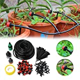 KING DO WAY Micro Flow Drip Watering Irrigation Kits System Self Plant Garden Hose Watering Kits