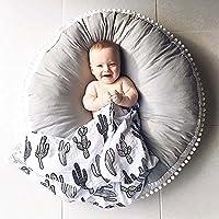 Hiltow huxun Kinder Boden Kissen Sitzkissen Infant Sitz Liege Neugeborene Liege für Boden und Spiel Zimmer (Durchmesser: 88,9cm) preisvergleich bei kinderzimmerdekopreise.eu