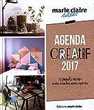 Agenda créatif 2017 : 52 projets récup : meubles, luminaires, miroirs, objets déco