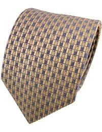 Krawatte Seide TigerTie Seidenkrawatte grau anthrazitgrau silber gepunktet