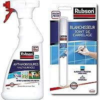 Rubson Vaporisateur Anti-Moisissures, Spray nettoyant qui élimine la moisissure en 10 minutes, 500 ml & Outils…