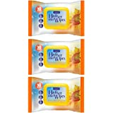 3 Pack Nuage Hayfever Allergy Relief Wipes 30 Wipes (Total 90 Wipes)