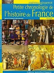 Petite chronologie de l'histoire de France - mémo