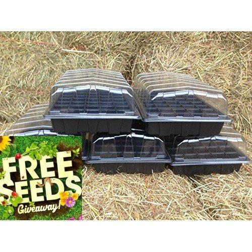 5-x-full-size-propagator-sets-5-x-lids-5-x-seed-trays-5-x-40-cell-inserts-free-seeds