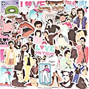 50PCS Singer Harry Styles Stickers for Laptop and Water Bottles, Waterproof Durable Trendy Vinyl Laptop Decal
