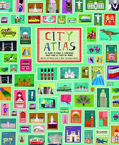 City Atlas: Faites le tour du monde en 30 plans de villes