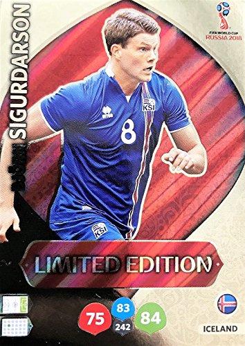 Panini Adrenalyn XL WM 2018 Russland - Sigurdarson Island Karte limited Edition (Limited Wm-karten Edition)
