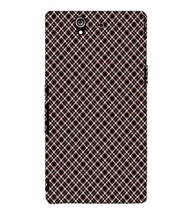 TOUCHNER (TN) Pattern Back Case Cover for Sony Xperia Z::Sony Xperia Z L36h