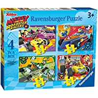 Ravensburger UK 6900 Disney Mickey and Roadster Racers 4 in Box Jigsaw Puzzles
