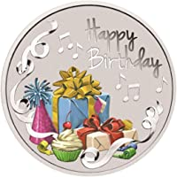 Ananth Jewels BIS Hallmarked Silver Coin 10 Grams Happy Birthday Gift