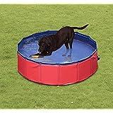 Piscina para Perros Plegable Diametro 160cm y Altura 30cm Natacion Mascotas